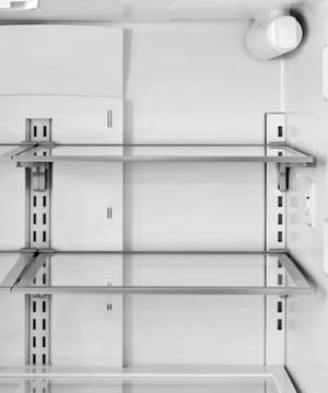 Refrigerator Organization - Split Shelves Example