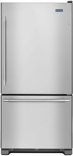 Best Bottom Freezer Refrigerator Maytag MBF2258FEZ