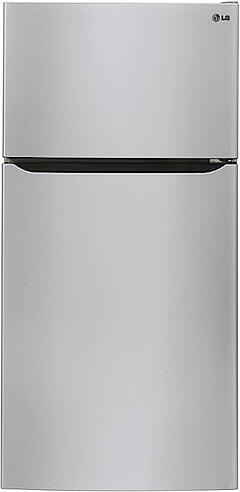 Best Top Freezer Refrigerator LG LTCS24223S