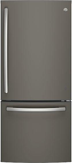 Best Bottom Freezer Refrigerator LG vs GE - GE GDE21EMKES