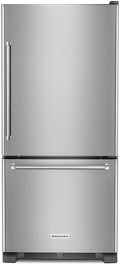 Best Bottom Freezer Refrigerator KITCHENAID KRBR109ESS