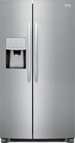 Largest Side by Side Refrigerator Frigidaire Gallery Side by Side Refrigerator FGSS2635TF