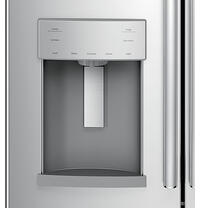 Refrigerator Buying Guide_GE French Door GYE22HSKSS Ice and Water Illustration