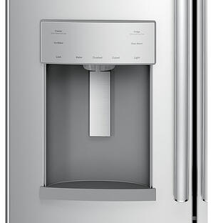 Refrigerator with ice and water dispenser - GE French Door GYE22HSKSS Dispenser