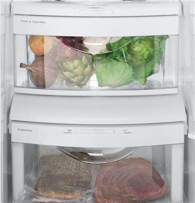 Refrigerator Organization - Humidity Control Bins