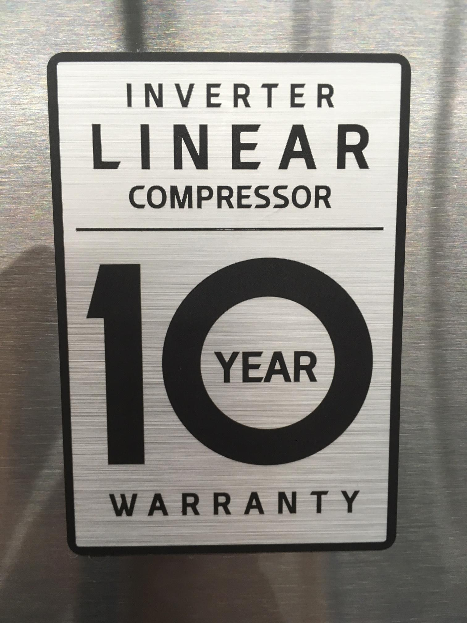 LG Linear Compressor Badge 05.30.18