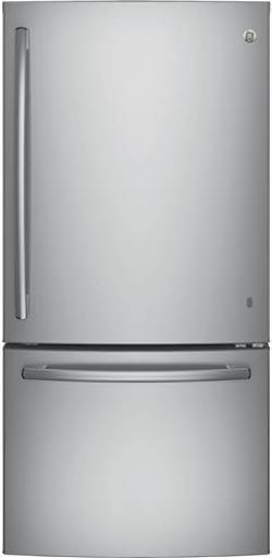 Largest Bottom Freezer Refrigerator GE GDE25ESKSS
