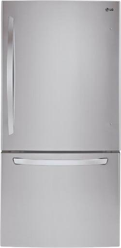 Best Bottom Freezer Refrigerator LG vs GE - LG LDCS24223S