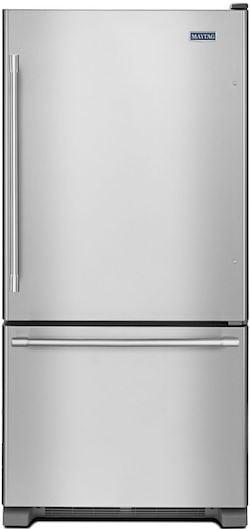 Largest Bottom Freezer Refrigerator MAYTAG MBF2258FEZ
