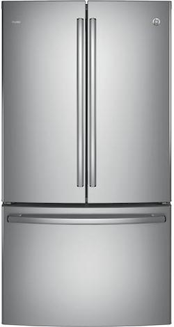 Largest Counter Depth Refrigerator GE PWE23KSKSS