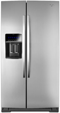 Largest Counter Depth Refrigerator WHIRLPOOL WRS973CIDM