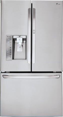 Largest French Door Refrigerator LG LFXS30766S