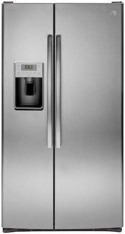 Refrigerator with largest freezer GE PSS28KSHSS