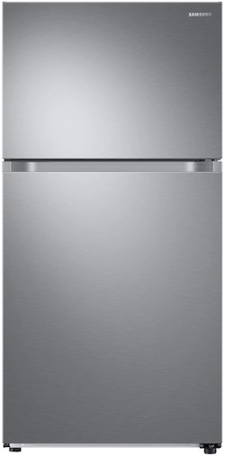 Largest Top Freezer Refrigerator SAMSUNG RT21M6215SG