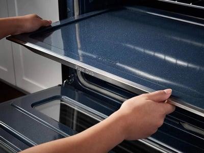 Double Oven Range - Samsung Flex Duo Smart Divider Samsung NE59J7850WG