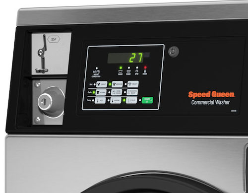 Coin Operated Washer_Speed Queen SFNNCASP115TW01 Control Panel