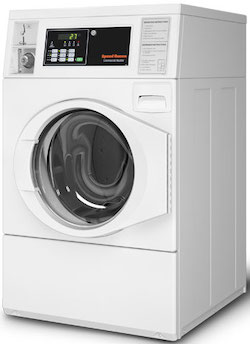 Coin Operated Washer and Dryer_Speed Queen SFNNCASP115TW01 Commercial Front Load Washer Coin Operated