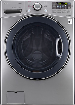 Steam Cycle Washer_LG WM3770HVA Front Load Washer
