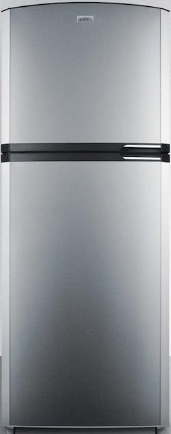 Summit Refrigerator Reviews_Summit FF1423SSLH Top Freezer Counter Depth Refrigerator