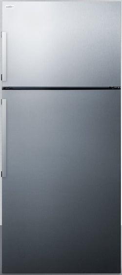 Summit FF1511SS Top Freezer Counter Depth Refrigerator