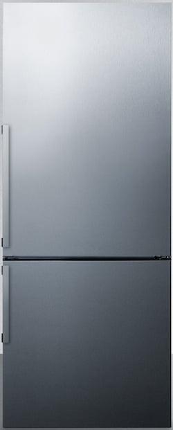 Summit Refrigerator Reviews_Summit FFBF286SS Bottom Freezer Refrigerator