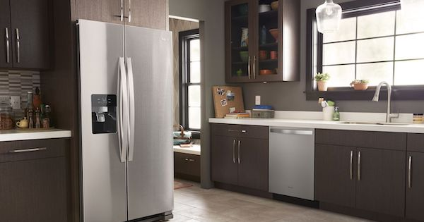 The Best Side by Side Refrigerator Models (LG vs Whirlpool) - Whirlpool WRS325SDHZ
