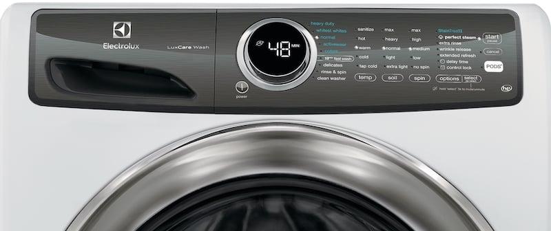 Washing Machine Buying Guide_Washer Controls Electrolux EFLW427UIW