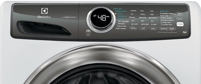 Washing Machine Buying Guide_Washer Controls Electrolux EFLW427UIW