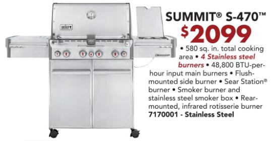 Weber Summit S-470
