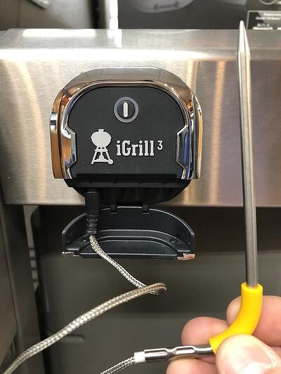 Weber iGrill 3 with probe