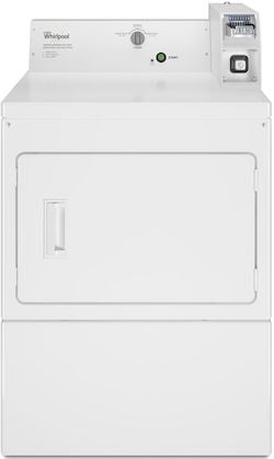 Coin Operated Washer and Dryer_Whirlpool Commercial CEM2745FQ Commercial Dryer Electric