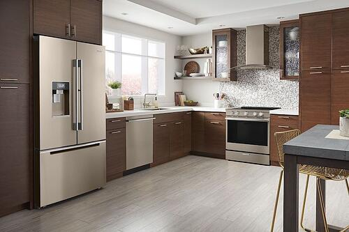New Appliance Colors - Whirlpool Sunset Bronze Kitchen