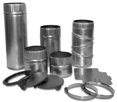 Side Venting Dryer_Whirlpool W10470674 4-Way Dryer Vent Kit