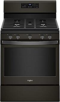 New Appliance Colors - Whirlpool Black Stainless Steel - Whirlpool WFG525S0HV Gas Range Black Stainless Steel