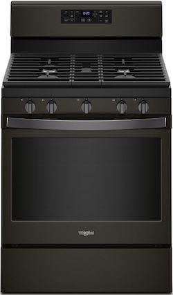 New Appliance Colors - Whirlpool Black Stainless Steel - Whirlpool WFG525S0HV Gas Range Black Stainless Steel