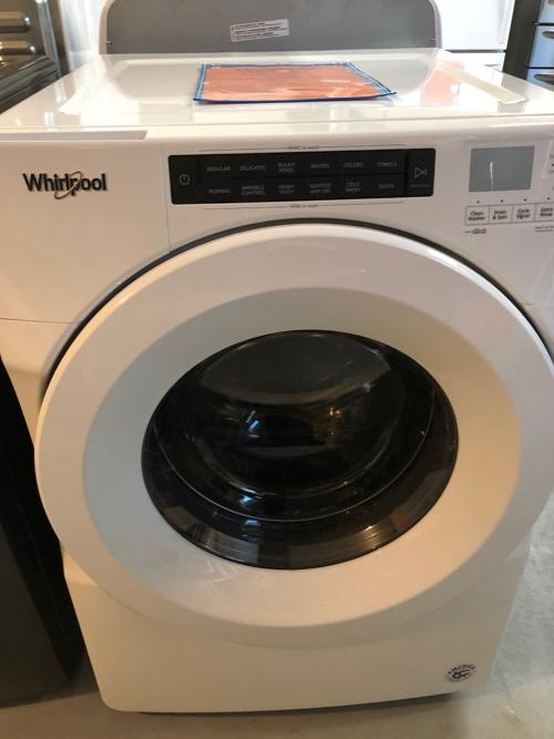 Whirlpool WFW5600HW Front Load Washer Clearance