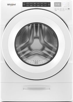 Best Front Load Washer LG vs Whirlpool - Whirlpool WFW5620HW