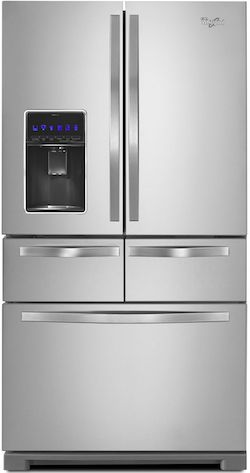 Whirlpool WRV986FDEM French Door Refrigerator with Drawers