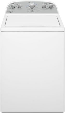 Whirlpool WTW4955HW Agitator Top Load Washer