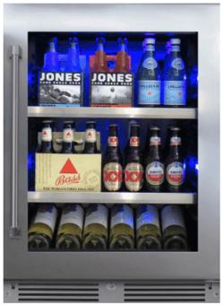 XO XOU24BCGS Undercounter Refrigerator