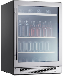 Best Beverage Cooler - Zephyr PRB24C01BG Beverage Cooler