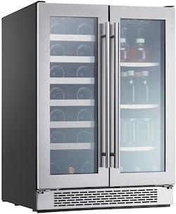 Zephyr PRWB24C32BG Dual Zone Wine Refrigerator
