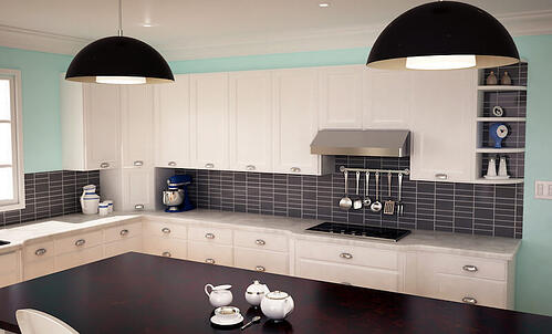 Kitchen Ventilation Buying Guide - Undercabinet hood example