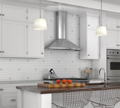 kitchen ventilation buying guide - Zephyr ZSAE30DS Chimney Hood