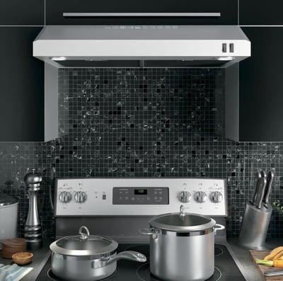 kitchen ventilation buying guide - under cabinet hood - GE Appliances JVX5305SJSS