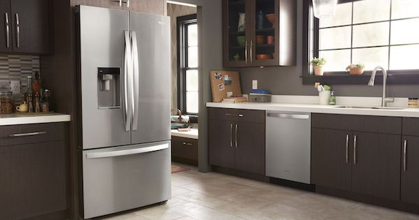 Above the Fold Image French Door Refrigerators Pros Cons - Whirlpool Kitchen Lifestyle Image