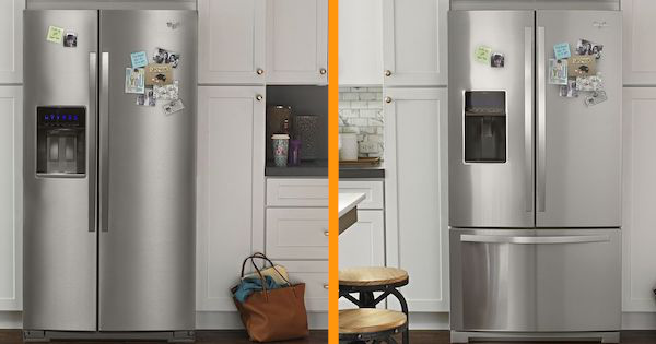 French Door vs Side by Side Refrigerators