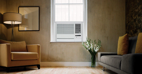 Above the Fold Image Friedrich vs Frigidaire Window Air Conditioners - Friedrich Lifestyle Image