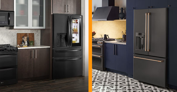 Black Matte Appliances From Lg Vs Ge Black Slate