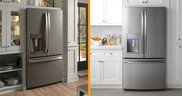 Above the Fold Image Slate vs Stainless Steel Appliances